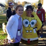 Caroline and me at last year's Grahamtastic 5K Run & Walk