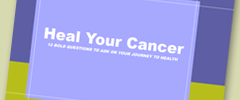 Heal Your Cancer eBook