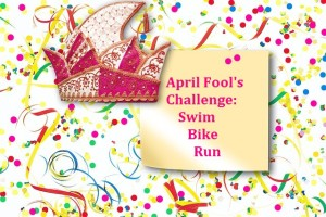 April Fool's Challenge: Swim, Bike, or Run Every Day of the Month